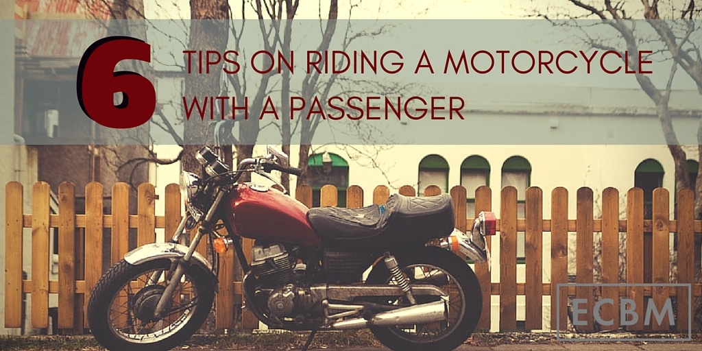 How old do you have to be to ride as a passenger on a motorcycle?